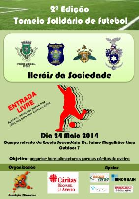 """Norbain apoia o Torneio solidário de futebol """"Heróis da Sociedade"""""""