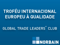 Norbain distinguida com o prémio Troféu Internacional Europeu à Qualidade