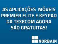 As aplicações móveis Premier Elite e Keypad da Texecom agora são gratuitas!