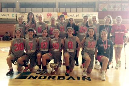 Equipa Basket Feminino GALITOS
