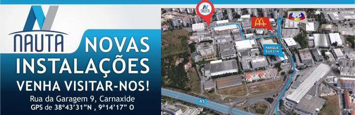Novas Instalações NAUTA Lisboa