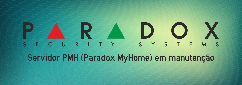 Servidor PMH (Paradox MyHome) em manutenção